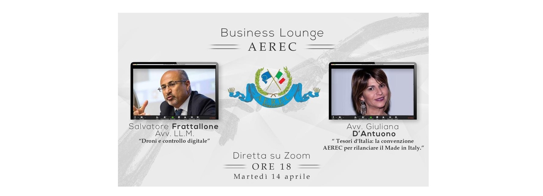 PRIVACY - Business Lounge Aerec 'Droni e controllo digitale'